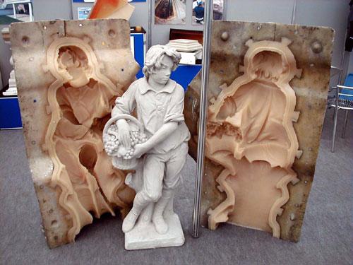 Making a latex mould
