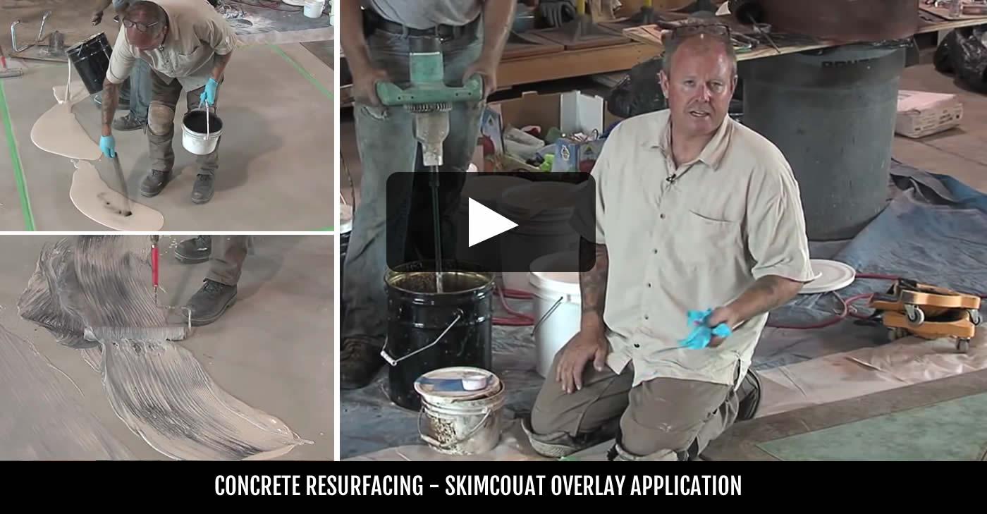 Vertical Concrete Resurfacing Resurfacing Concrete