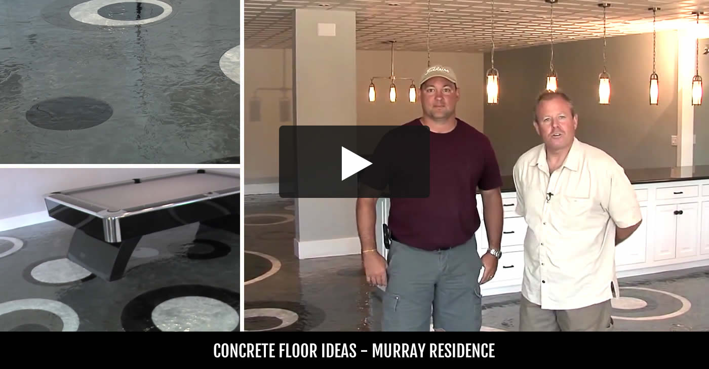 Concrete Basement Floor Ideas basement flooring - why concrete is a good basement floor option