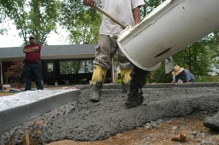 Concrete Driveway Mix Tips The Concrete Network