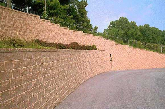 Segmental Retaining Walls The Concrete Network The