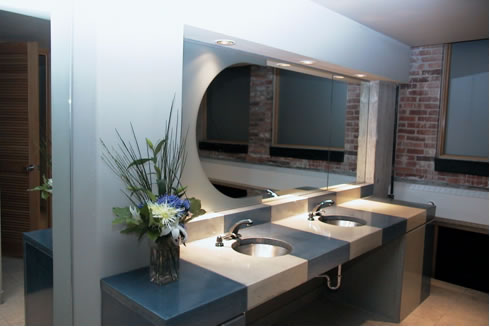 Bring Color To Your Concrete Sink With Concrete Choose