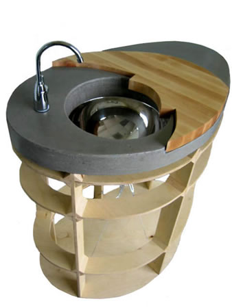 Concrete Sinks: Style And Function Of Pedestal Sinks   The Concrete .