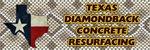 Texas Diamondback Concrete Resurfacing