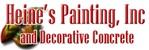 Heine's Painting Inc & Decorative Concrete