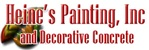 Heine's Painting Inc & Decorative Concrete