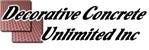 Decorative Concrete Unlimited Inc
