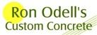 Ron Odell's Custom Concrete