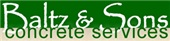 Baltz & Sons Concrete Services