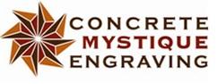 Concrete Mystique Engraving