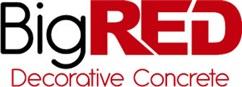 Big Red Decorative Concrete