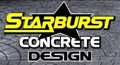 Starburst Concrete Design