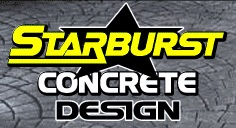 Starburst Concrete Design