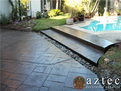 Aztec Decorative Concrete Houston Tx Concrete