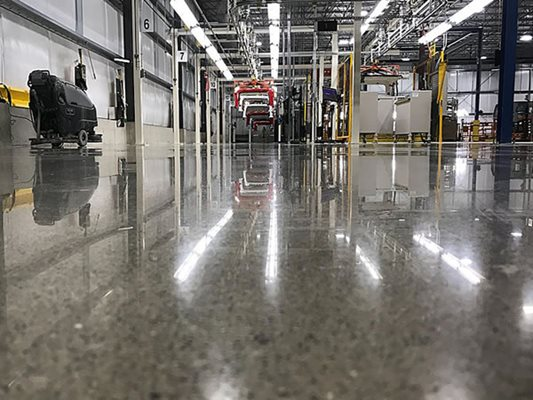 Polished Concrete & Floor Coatings - Toledo Area - The Concrete Network