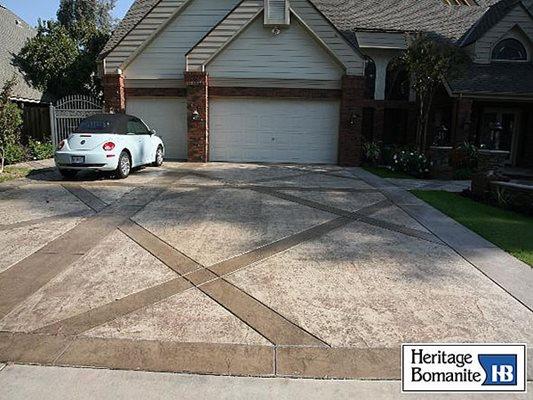 Heritage Bomanite Fresno Ca Concrete Contractors