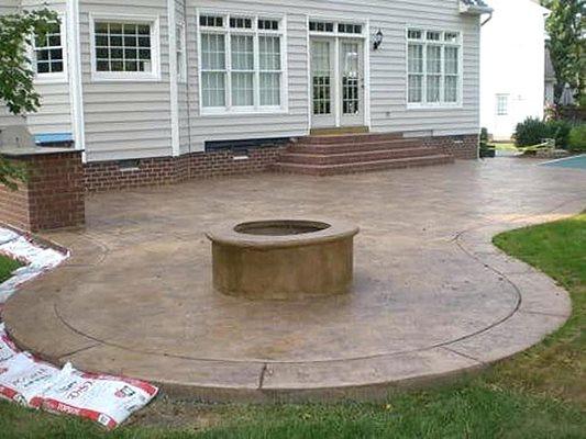 Stamped Concrete Flint Mi The Concrete Network