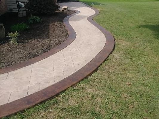 Stamped Concrete Patios Amp Driveways Philadelphia Pa