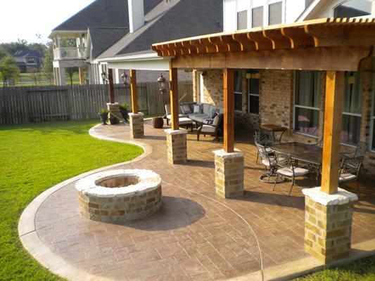 Pattern Pro Concrete Katy Houston Tx Concrete