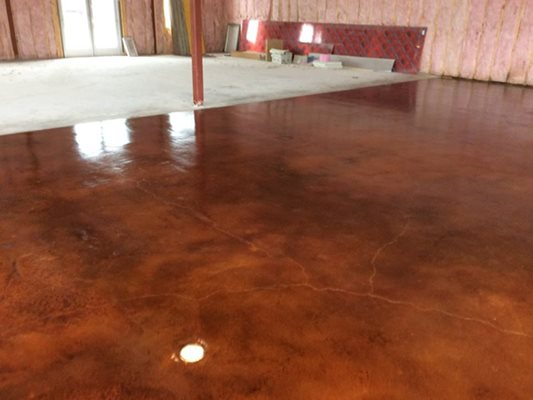 Stained Concrete Austin Tx The Concrete Network