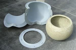 Reusable Furniture Molds For Concrete Planters Stools