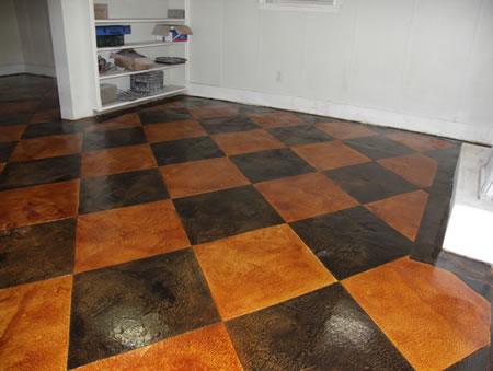 Concrete projects profiles of amazing concrete projects for What is best for basement flooring over concrete