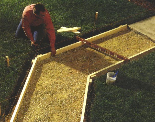 How to build a shed concrete base naka for Concrete log forms