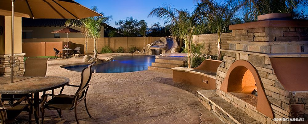 Stamped Concrete Contractors In Jacksonville Florida The Concrete