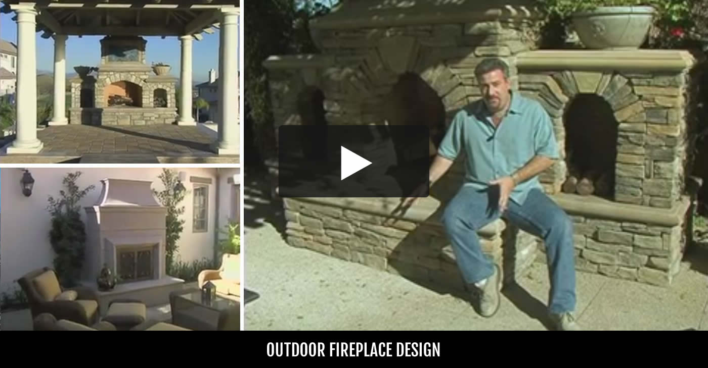 Outdoor Fireplace Design Ideas outdoor fireplace design ideas to pick from 2 Outdoor Fireplace Backyard Fireplace Designs And Ideas The Concrete Network