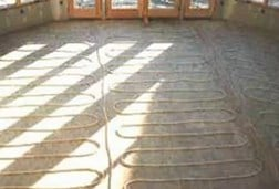 Watch An Overview Of The Benefits Installing A Radiant Floor Heating System In Concrete Floors