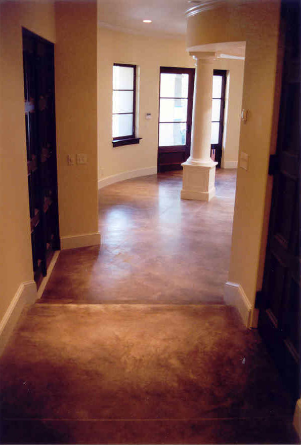 Maverick Specialty Contracting Decorative Concrete Floors