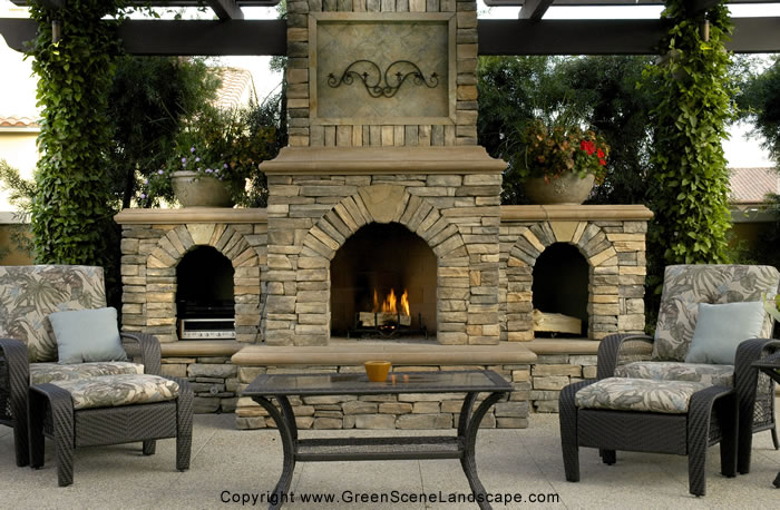 Excellent Back Yard Outdoor Fireplace Designs 700 x 458 · 101 kB · jpeg