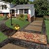 Stained, Star Concrete Driveways Custom DesignCrete, Inc Crescent, PA