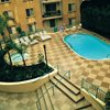 Two Tone, Checker Board Concrete Pool Decks Concrete Solutions Products by Rhino Linings San Diego, CA