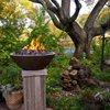 Cast Fire Bowl, Fire Pillar, Fire Wok Outdoor Fire Pits C.S.W. Creations Simonton, TX