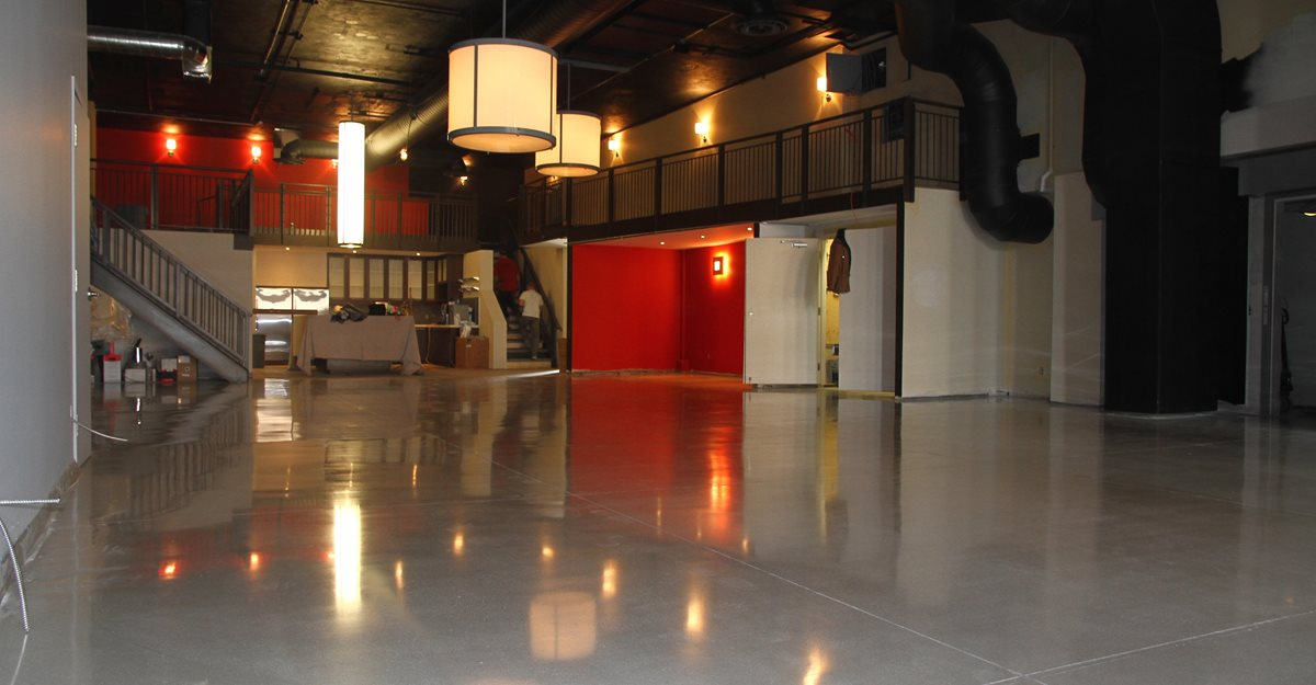 Polished, Floor, Gray Commercial Floors Concrete Floors Polishing & Sealing Ltd Ottawa, ON
