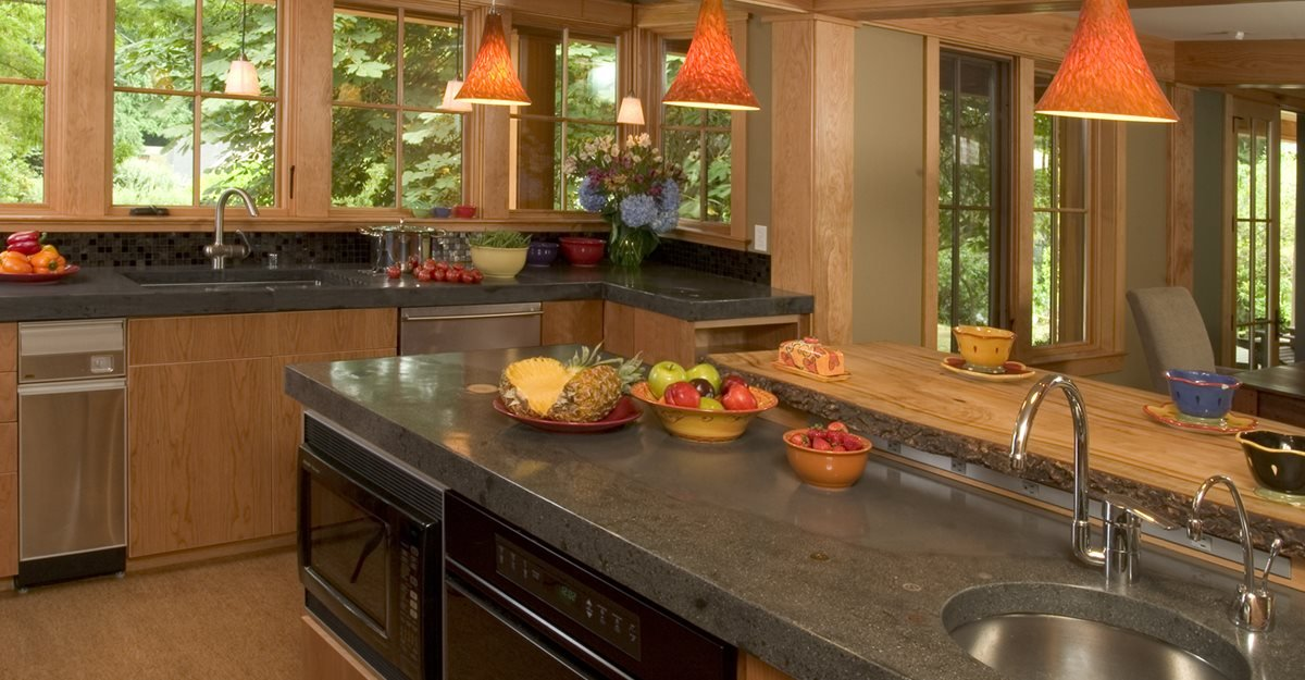 Concrete Countertops : Why Choose Concrete Countertops? Concrete countertops offer a number ...