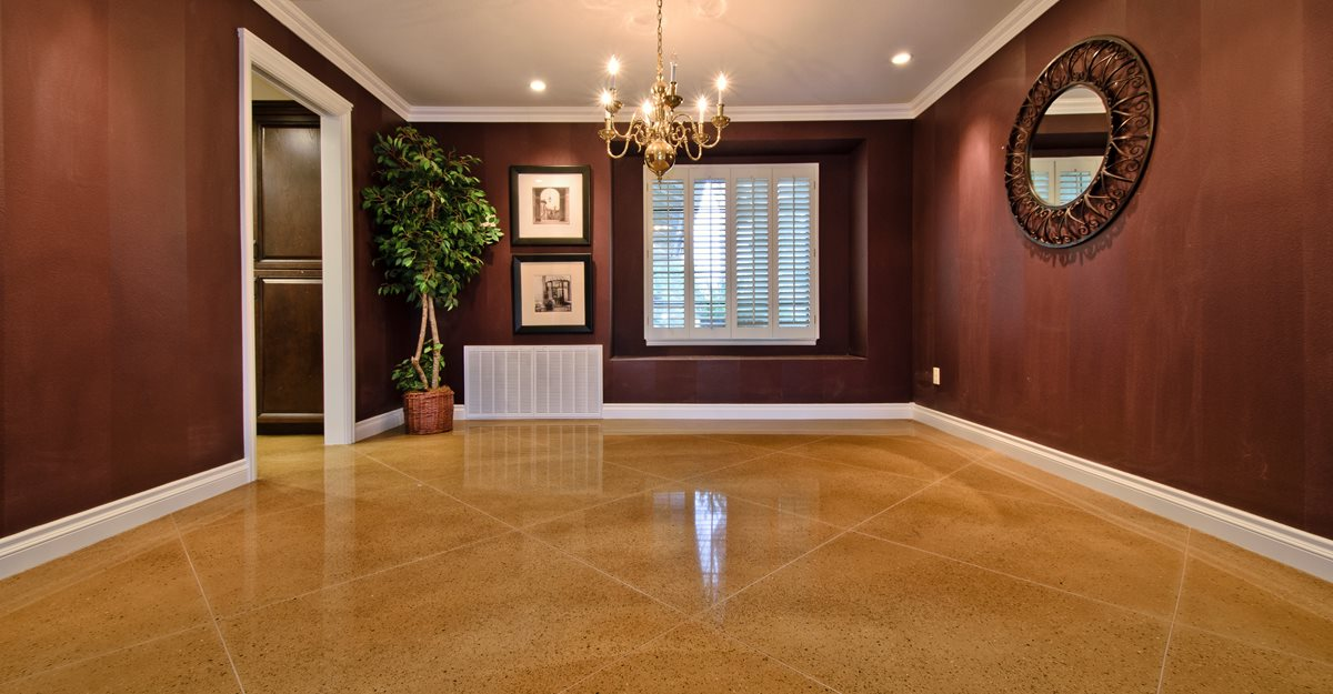 Concrete Floor Design Ideas fantastic painted concrete floors and finishes Concrete Floor Living Room Diamond Tan Concrete Floors Aci Flooring Inc Beaumont