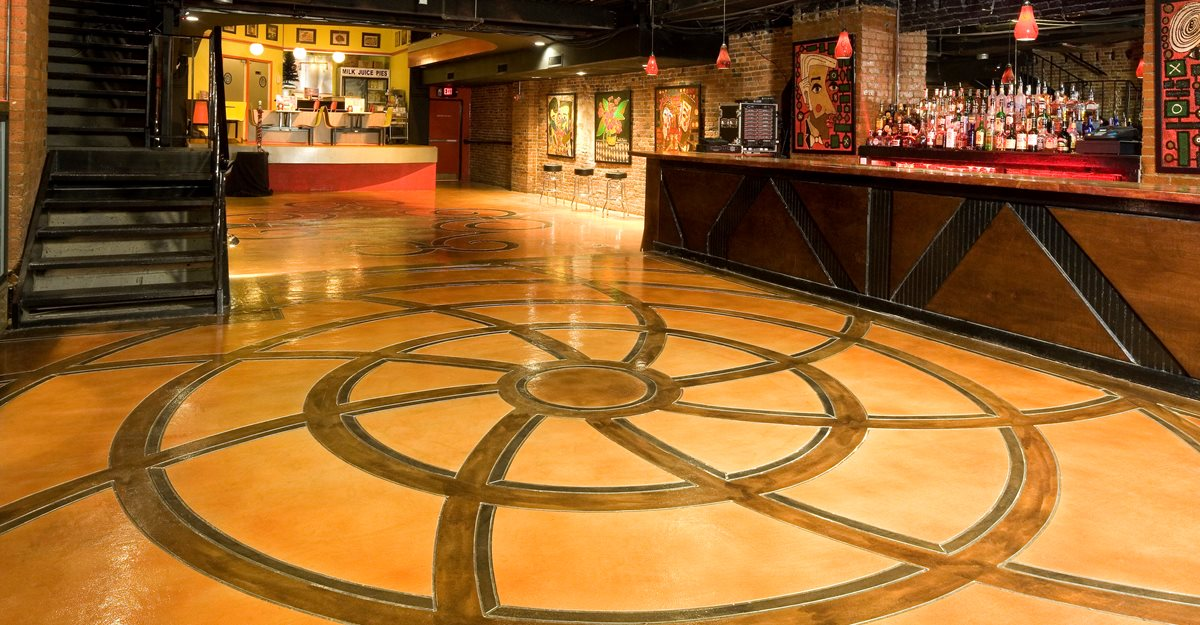 Concrete Floors Concrete Mystique Engraving Nashville, TN