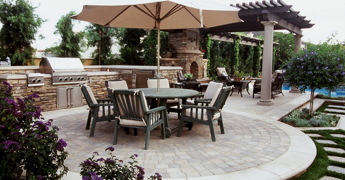 Outside Living Ideas backyard designs - outdoor living rooms and backyard ideas - the