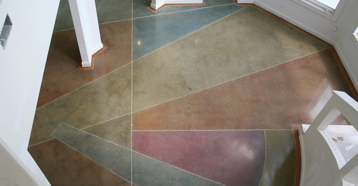 How to polish a concrete floor the concrete network for How to clean polished floors