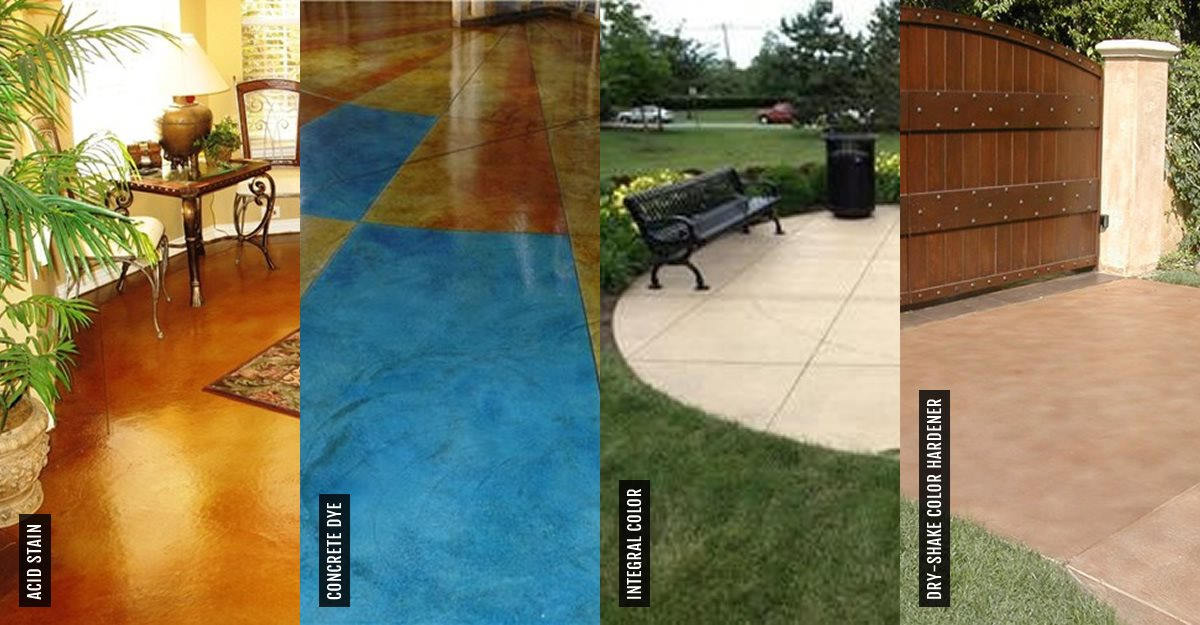 Concrete Stain - Tips on Purchasing & Installation - The Concrete ...
