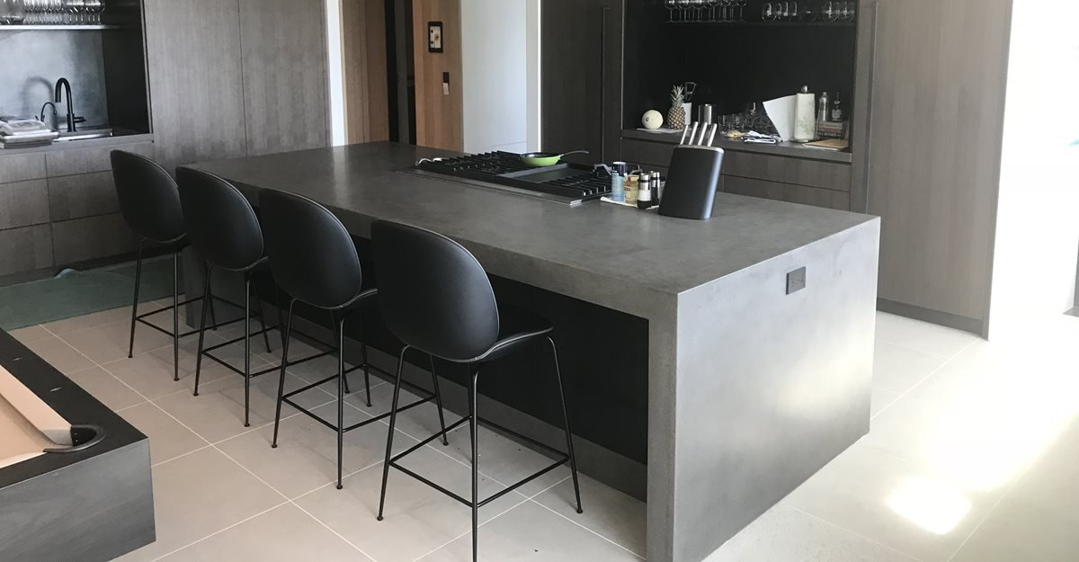 Concrete Countertops - Pros, Cons, DIY & Care - The Concrete ...