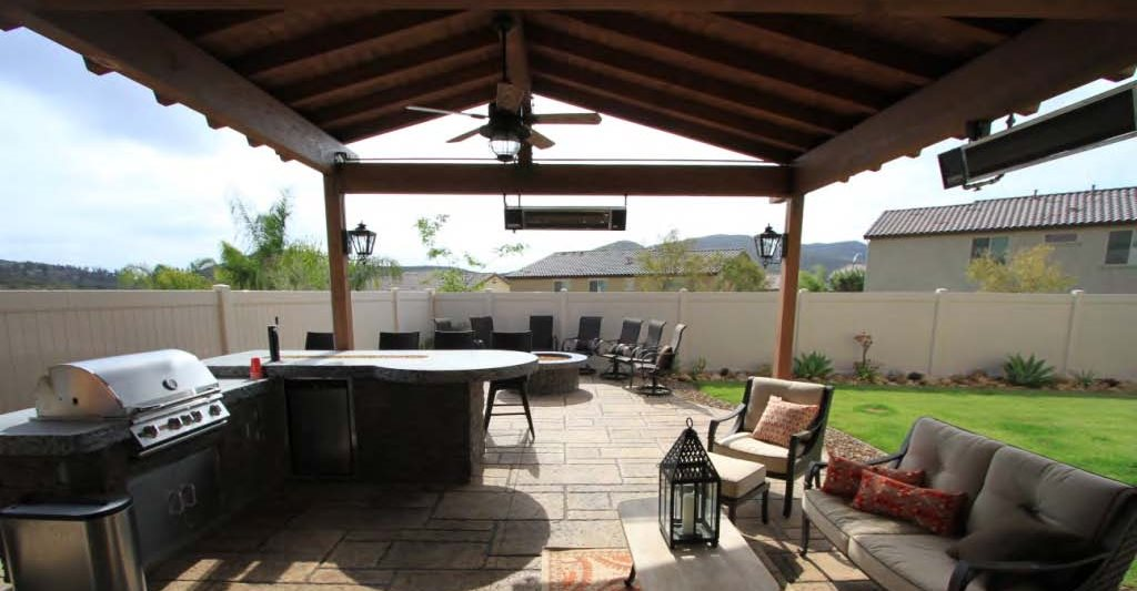Merveilleux Concrete Patio And Fire Pit Site Allen Decorative Concrete Escondido, CA. Outdoor  Living Design Ideas ...