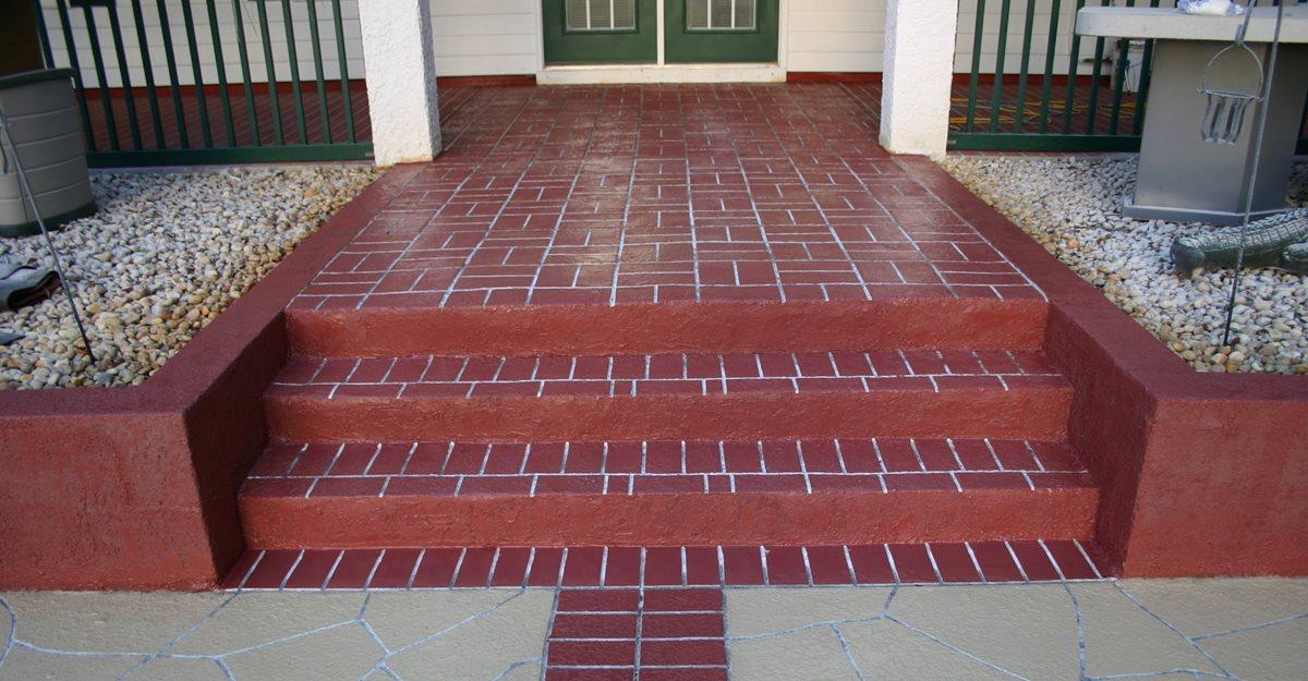 Flagstone, Brick Steps and Stairs Elite Crete Corporation Valparaiso, Indiana