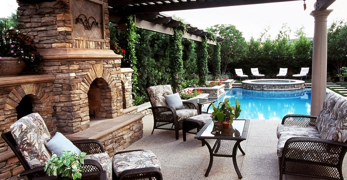 35 Outdoor Living Space Ideas That Wow The Concrete Network