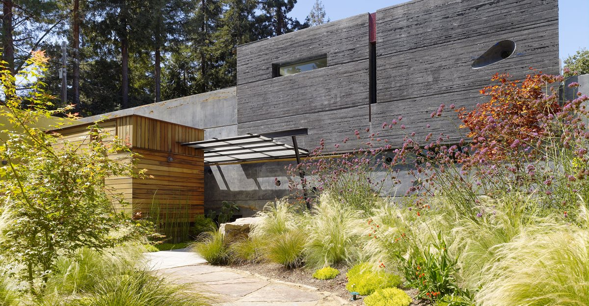 house walls cheng board formed concrete homes cheng design berkeley ca - Ca Home Design
