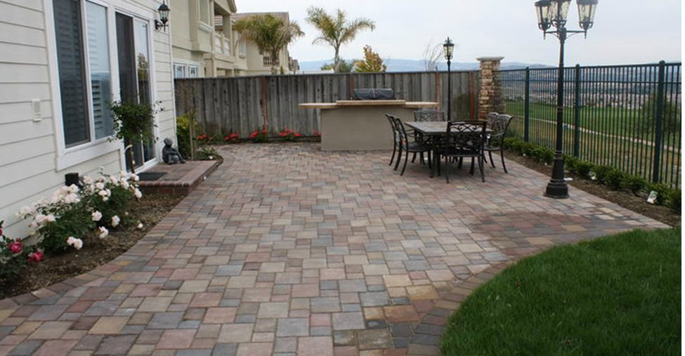 Backyard Concrete Pavers Site BR Landscapers, Concrete U0026 Pavers Pleasanton,  ...