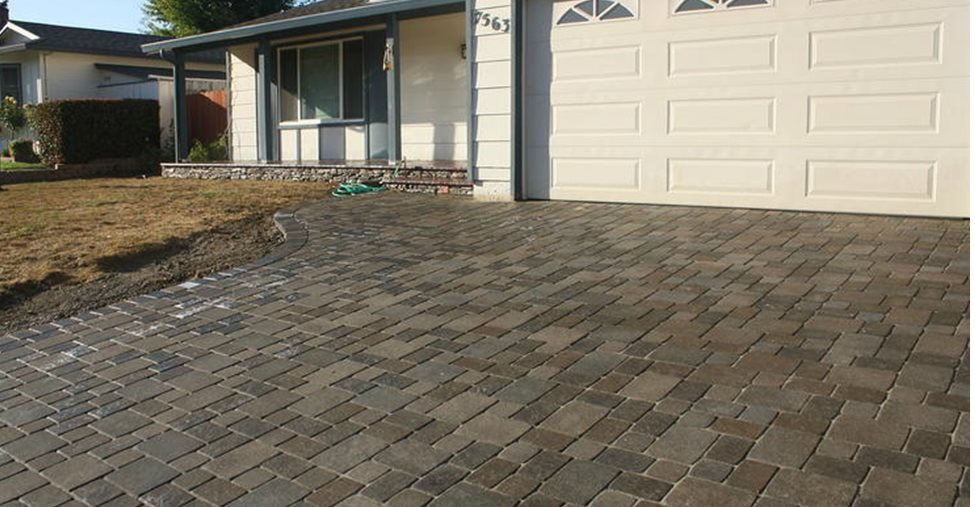 Brown Concrete Pavers BR Landscapers, Concrete & Pavers Pleasanton, CA