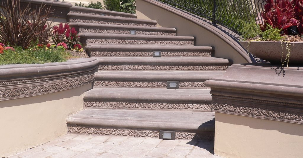 Bullnose Concrete Step Profile Site The Green Scene Chatsworth, CA